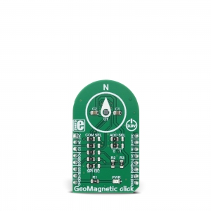 GeoMagnetic click - BMM150 kompassi moodul