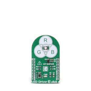 LED Driver 3 click - RGB LED moodul