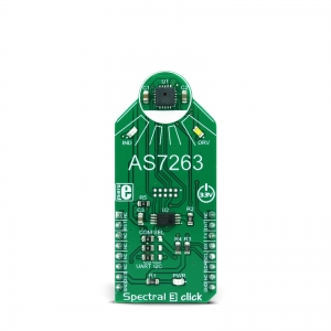 Spectral 3 click - AS7263 RGB valgusanduri moodul