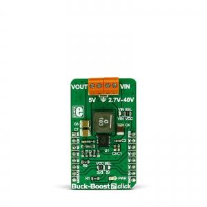 Buck-Boost 2 click - LTC3115-2  2A toitekonverteri moodul