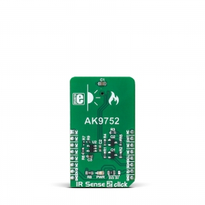 IR Sense 2 click - AK9752 infrapuna kaugusanduri moodul