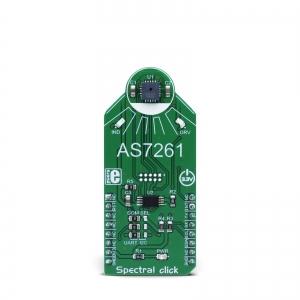 Spectral click - AS7261 RGB valgusanduri moodul