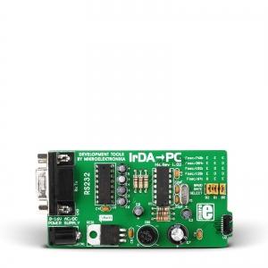 IrDA-To-PC - RS232 infrapuna side moodul