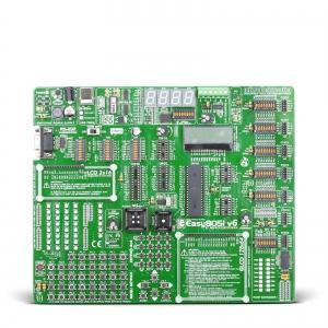 Easy8051 v6 arendusplatvorm 8051 mikrokontrolleritele