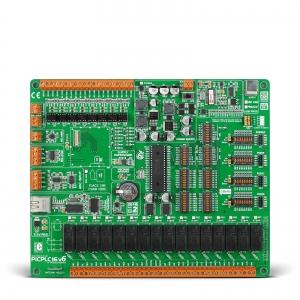 PICPLC16 v6 PLC System - automaatika arendusplatvorm