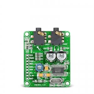 Audio koodek 24-bit 96kHz, kõrvaklapi võimendiga
