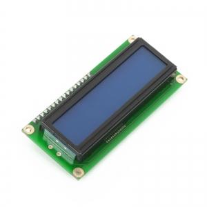 LCD maartiksdisplei 2x16, sinine taustvalgus