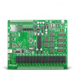AVRPLC16 v6 PLC System - automaatika arendusplatvorm
