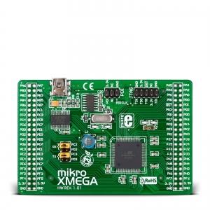 mikroXMEGA - stardiplatvorm ATXmega128A1 mikrokontrolleriga