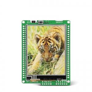 mikromedia 2.8´´ nutikas displei PIC32MX4 mikrokontrolleriga