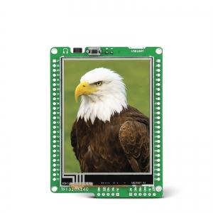 mikromedia 2.8´´ nutikas displei dsPIC33 mikrokontrolleriga