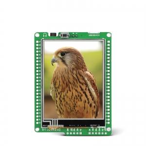 mikromedia 2.8´´ nutikas displei PIC18FJ mikrokontrolleriga