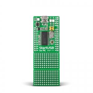 StartUSB PIC - stardiplatvorm PIC18F2550 mikrokontrolleriga