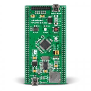 mikroBoard ARM 64-pin arendusplatvorm LPC2148 mikrokontrolleriga
