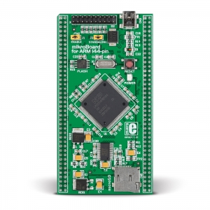 mikroBoard ARM 144-pin arendusplatvorm LPC2214 mikrokontrolleriga