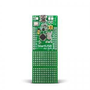 StartUSB AVR - stardiplatvorm AT90USB162 mikrokontrolleriga