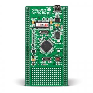 mikroBoard PIC arendusplatvorm PIC18F8520 mikrokontrolleriga