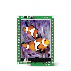 mikromedia 2.8´´ nutikas displei ATXmega128 mikrokontrolleriga