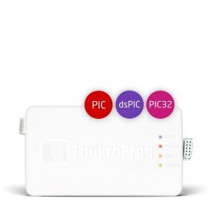 mikroProg™ programmaator PIC, dsPIC, PIC32 mikrokontrollerile