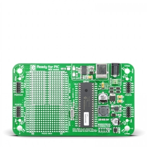 Ready for PIC - stardiplatvorm 8-bit PIC18F45K22 mikrokontrolleriga