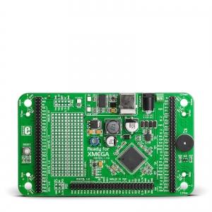 Ready for XMEGA - stardiplatvorm ATXmega128A1 mikrokontrolleriga