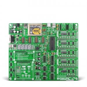 EasyPIC v7 - arendusplatvorm 8-bit PIC mikrokontrolleritele