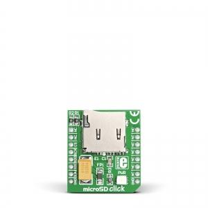 microSD click - mälukaardi moodul