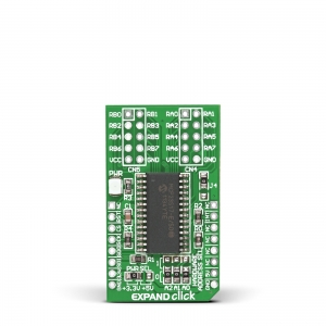 EXPAND click - MCP23S17  16-bit SPI multiplekser