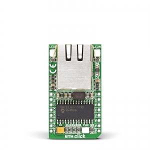 ETH Click - ENC28J60 Ethernet kontroller