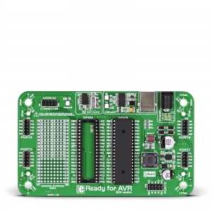 Ready for AVR - stardiplatvorm ATmega16 mikrokontrolleriga