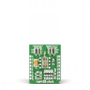Light Hz click - TSL230BR valgus/sagedus konverter