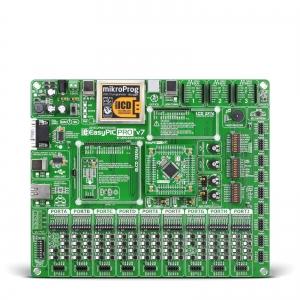 EasyPIC PRO v7 - arendusplatvorm PIC18F mikrokontrolleriga