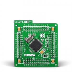 EasyPIC PRO v7 - PIC18F8722 mikrokontrolleri moodul