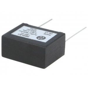 Kondensaator audio polypropylene 1uF 450VDC 2% 22,5mm