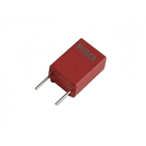 Kondensaator polyester 2.2uF 50VDC Pitch:5mm; 10%, WIMA