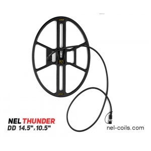 "Metalliotsija DD pool NEL Thunder 14,5""x10,5"" Garrett ACE sarjale"