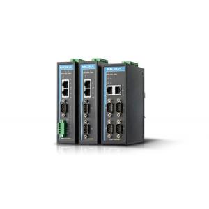 4 port RS-232/422/485 server, 2 x 10/100BaseT(X) (üks IP), 2 x DC toide, -40 kuni 75°C, serial/LAN/toite ülepingekaitse, opt. Is