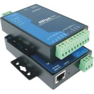 1 x RS-232 ja 1 x RS-422/485  server, 0 kuni 55°C