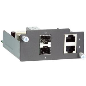 Moodul PT- / IKS- seeria switchidele: 2 x 10/100/1000BaseT(X) porti või 2 x 1000BaseSFP