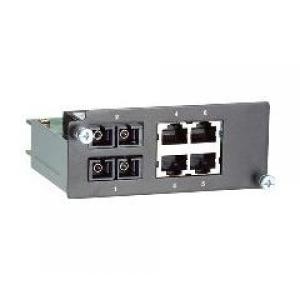 Moodul PT- / IKS- seeria switchidele: 2 x 100BaseFX single-mode porti (SC) ja 4 x 10/100BaseT(X)