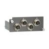 Moodul PT- / IKS- seeria switchidele: 4 x 10/100BaseT(X), M12 pesad