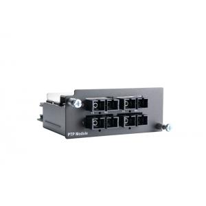 Moodul PT-7728-PTP seeria switchidele: 4 x 100BaseFX multi-mode porti (ST), riistvaraline IEEE 1588 PTP V2 protokolli tugi