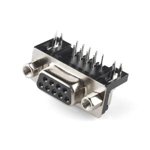 DB9 konnektor trükkplaadile, ema