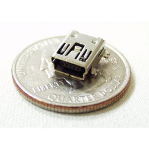 USB Mini-B pesa trükkplaadile, SMD
