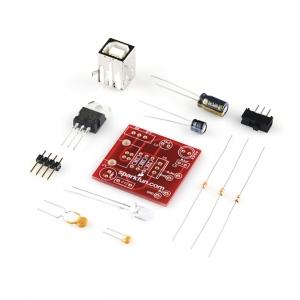 Toitekonverter makettplaadile, 5V/3.3V, USB sisend