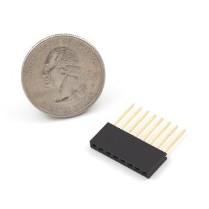 Arduino kontaktiriba 1x8p, kõrge, pikad jalad