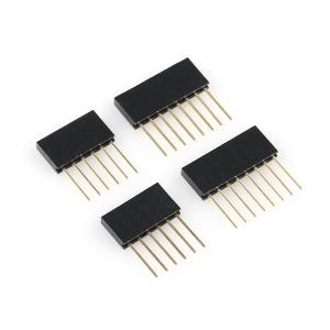 Arduino kontaktiribade komplekt, 2 x 6p ja 2 x 8p, kõrge, pikad jalad