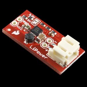 LiPower - Toitekonverter LiPo akult, 3.3/5V