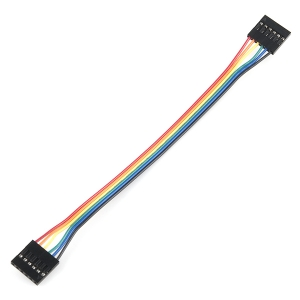 Kaabel 6p 2.54mm konnektoritega, eme/ema, 15cm