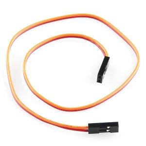 Kaabel 2p 2.54mm konnektoritega, eme/ema, 30cm